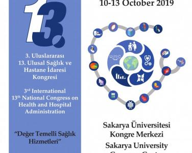 "the 3rd International and 13th National Health and Hospital Administration Congress organized by Sakarya University with the study titled ""A Research on the view of of the Students of the Faculty of Health Sci"